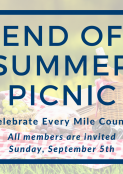 End of Summer Picnic