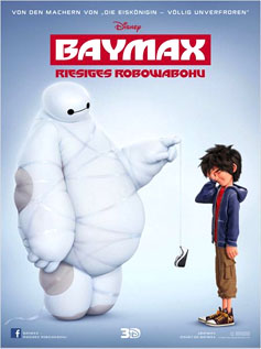 Big Hero 6 (Baymax,  Riesiges Robowabohu)