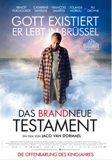The Brand New Testament (Das brandneue Testament, Le tout nouveau testament)